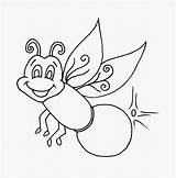 Firefly Coloring Bug Fireflies Insect Clipart Pages Drawing Printable Lightning Bugs Sheets Cartoon Clip Sketch Lonely Very Lightening Cliparts Getdrawings sketch template
