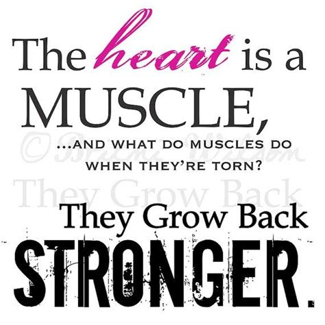 Love Growing Stronger Quotes