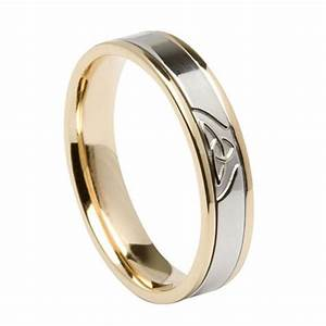 cetlic trinity knot wedding band With trinity knot wedding rings