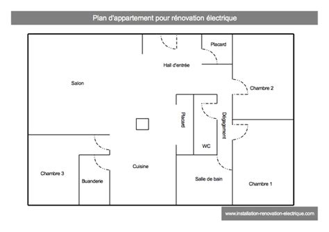 r 233 novation 233 lectrique d un appartement exemple concret de travaux