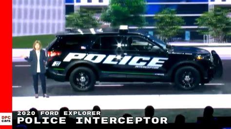 ford explorer police interceptor hybrid ford cars