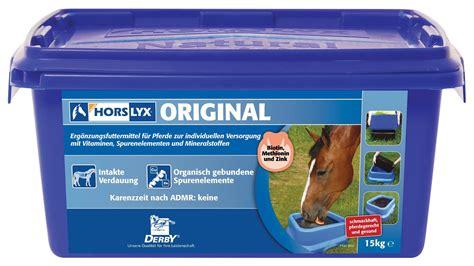 derby horslyx original leckstein fuer pferde  kg