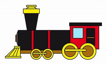 Train Clip Clipart Station Vector Template Cartoon