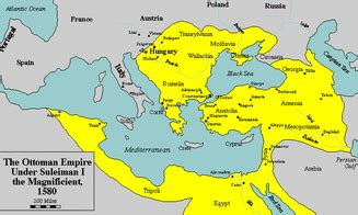 Ottoman Empire 1500s by 1450 1750 Mr Bevan