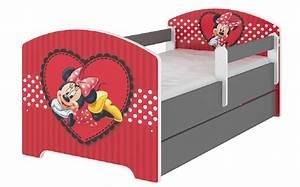 Minnie Maus Bett : kinderbett disney kollektion minnie mouse kinderbett bett ideen betten f r kinder ~ Watch28wear.com Haus und Dekorationen