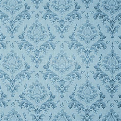 blue vintage wallpaper stock illustration illustration
