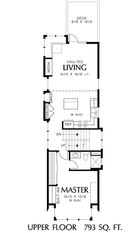 narrow house floor plans narrow house plans studio design gallery best