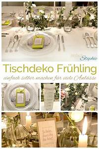 Tischdeko Selber Machen : tischdeko fr hling selber machen tipps und freebie ~ Watch28wear.com Haus und Dekorationen