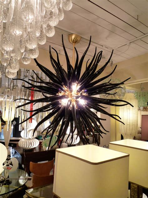 Meeresumwelt Skulpturen Aus Geblasenem Glas by Black Glass Chandelier Dale Chihuly Starlight