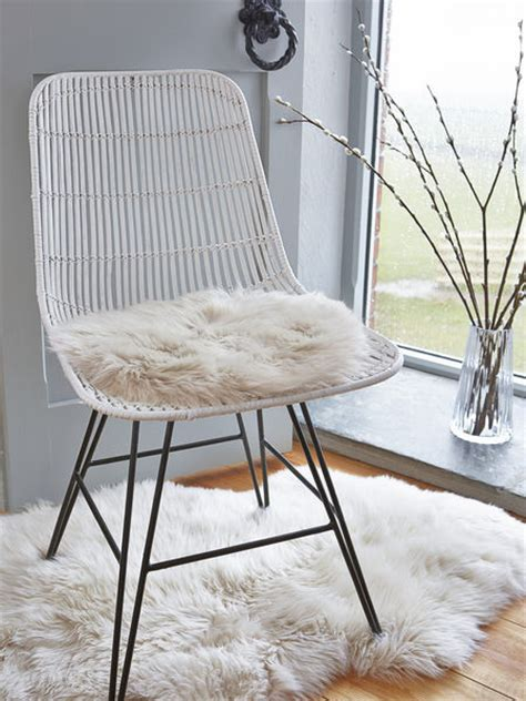 luxurious sheepskin seat cover chagne