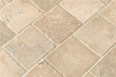 tumbled travertine travertine tile finishes and edge treatments