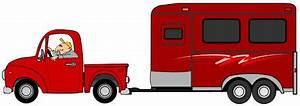 Conduire Une Remorque : camionnette de livraison avec la remorque de cheval illustration de vecteur illustration du ~ Medecine-chirurgie-esthetiques.com Avis de Voitures