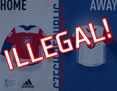 illegal logo forces change  world cup  hockey