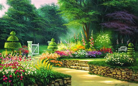 Garden Wallpaper Desktop by Garden Hd Wallpaper Background Image 1920x1200