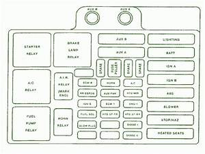 1991 Chevy Fuse Box Diagram Diagram Base Website Box