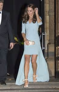 Kate Middleton in Blue Dress at Wildlife Photographer of ...