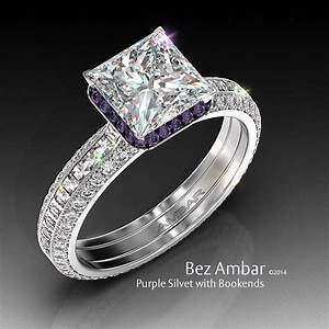 purple diamond wedding rings diamondstud With purple diamond wedding ring