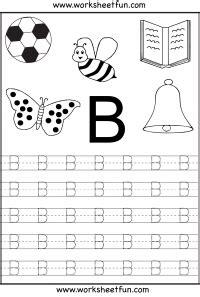 letter tracing worksheets  kindergarten capital