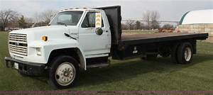 1988 Ford F700 Flatbed Truck In Lawrence  Ks