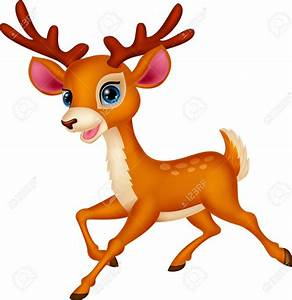 Buck clipart cute deer - Pencil and in color buck clipart ...