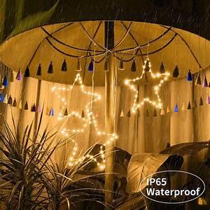 Knonew, Christmas, Star, Lights, 3, Pack, 45, Led, Star, Light, With, 8, Lighting, Modes, Timer, Memory, Usb