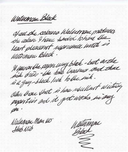 Ink Waterman Intense Pens Glenn Fountain Pen