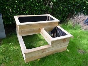 Fabriquer Un Potager Surélevé En Bois : fabriquer un carre potager en escalier apprendre demain ~ Melissatoandfro.com Idées de Décoration