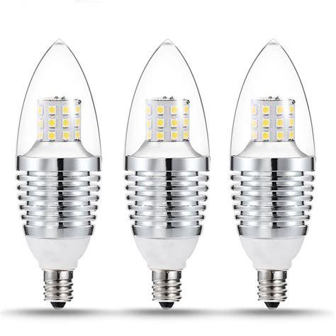5pcs led e12 candelabra base bulb 7w 110v warm white 2700