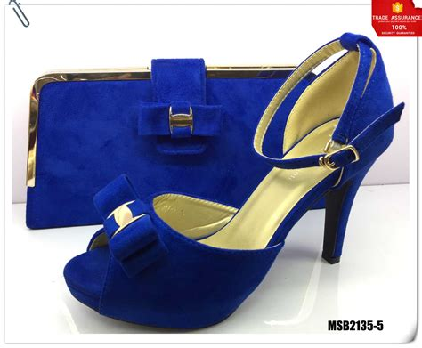 latest african shoes  bag set  party high quality