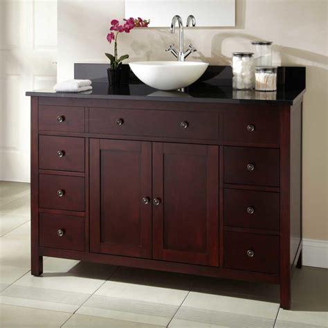 cherry bathroom vanity 36 quot silva cherry vessel sink vanity bathroom
