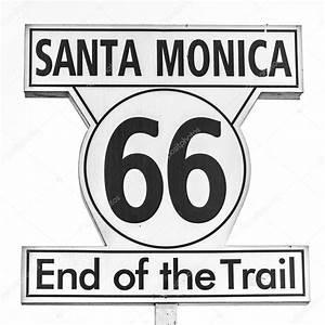 Route 66 Schild : route 66 schilder ende des weges in santa monica los ~ Whattoseeinmadrid.com Haus und Dekorationen