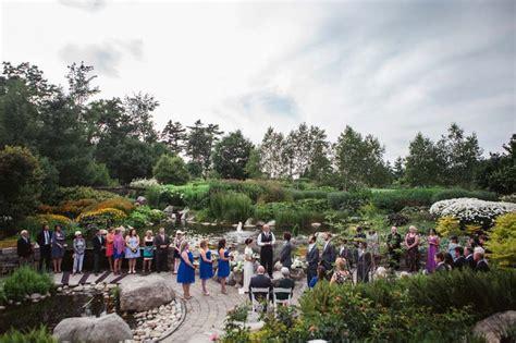 a wedding at coastal maine botanical gardens destination