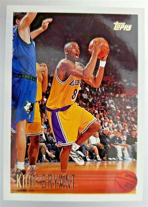 1997 kobe bryant nba hoops rookie headliners card # 3 of 10. 1996-97 Topps #138 Kobe Bryant RC ROOKIE CARD #LosAngelesLakers in 2020   Kobe bryant, Kobe ...