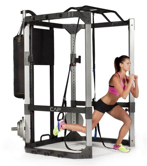 cap barbell power rack titan power rack squat and deadlift cage review