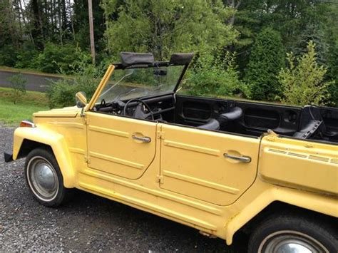 Purchase New 74 Vw Thing Type 181 Volkswagen In Edgecomb