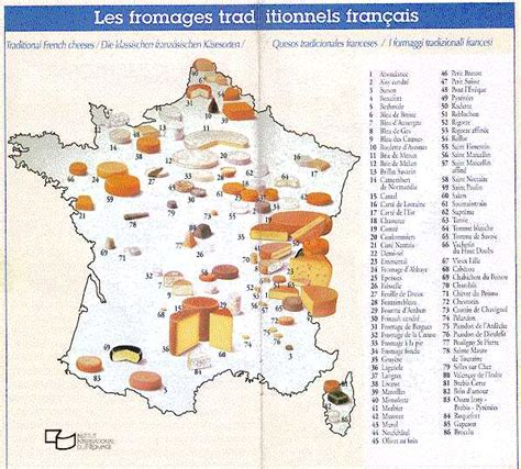 Carte Des Fromages De à Imprimer by Gastronomic Cartography The Breads Of Why Travel