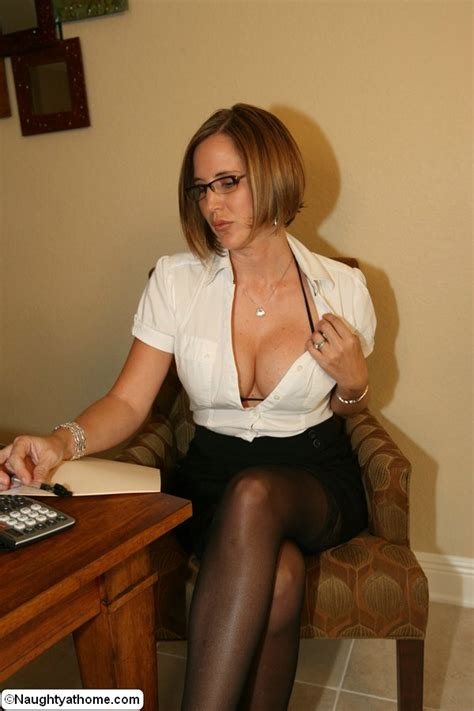 Naughty Secretary In Sexy Lingerie Strips D Xxx Dessert Picture