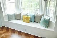 bay window cushions Building a Window Seat with Storage in a Bay Window ...