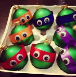 homemade tmnt christmas tree ornaments dorkly post