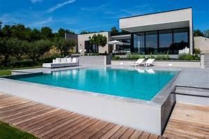la maison contemporaine photos architecte de maisons With idee terrasse exterieure contemporaine 16 photo de maison en pierre avec piscine