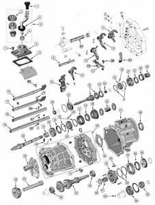 Aisin Ax15 Transmission Exploded View Diagram Found In 1987  U2013 1999 Wrangler Yj U2019s  U0026 Tj U2019s