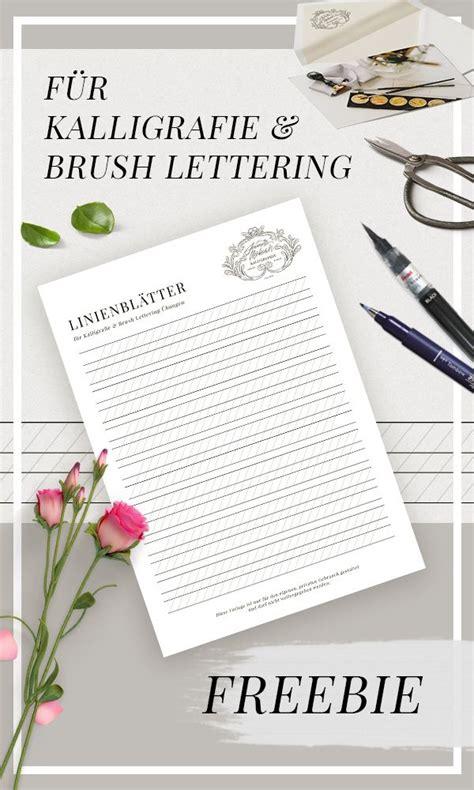 Die übungsblätter für achte auf die wahl des papiers, wenn du die übungsblätter ausdruckst. Übungsblätter für Kalligraphie, Hand Lettering & Brush Lettering // PDF (kostenlos ...