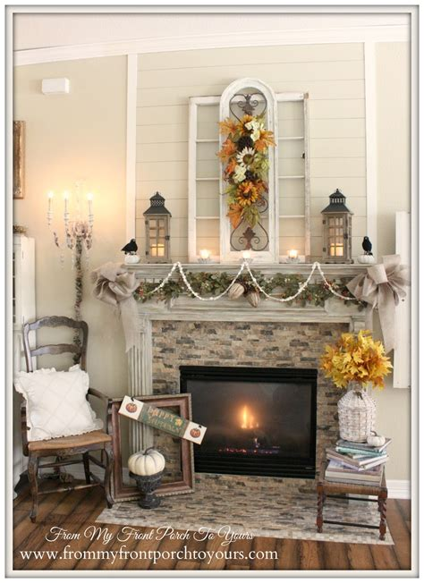 from my front porch to yours french farmhouse diy kitchen from my front porch to yours french farmhouse fall mantel