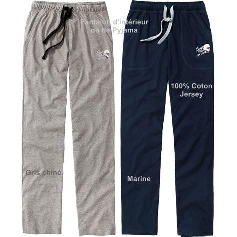 pantalon d interieur homme pantalon d int 233 rieur relax ou de pyjama taille 233 lastiqu 233 e coton jersey