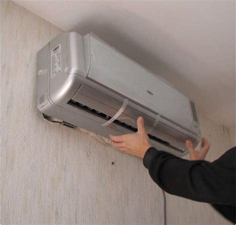 installation unite exterieure climatisation accroche de l unit 233 int 233 rieure