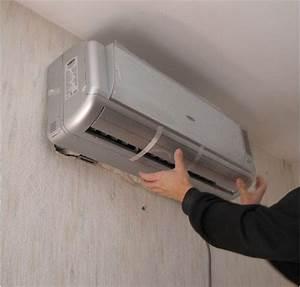 Bruit Climatisation Unite Interieure : accroche de l 39 unit int rieure ~ Premium-room.com Idées de Décoration