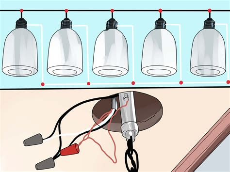 daisy chain lights  pictures wikihow