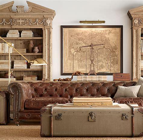 Kensington Leather Sofa by 118 Quot Kensington Leather Sofa