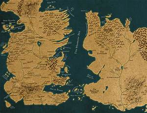 Game of Thrones Map by Filipa Martins | We Heart It