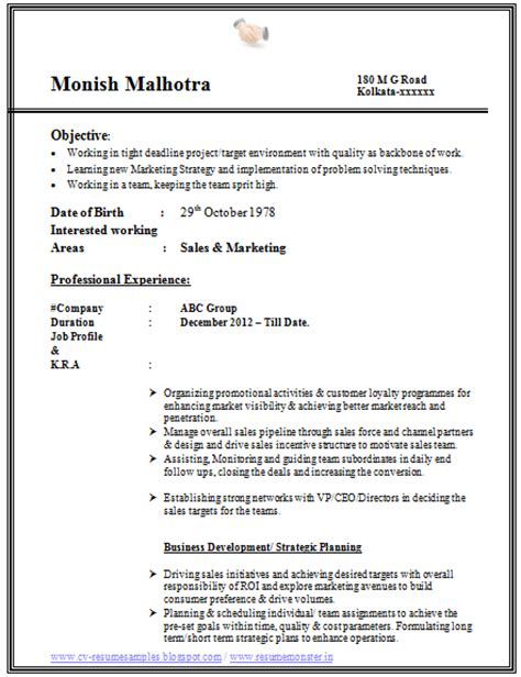 Articleship Resume For Big 4 by 10000 Cv And Resume Sles With Free Best Resume Format